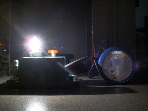 Reference light source, a halogen lamp