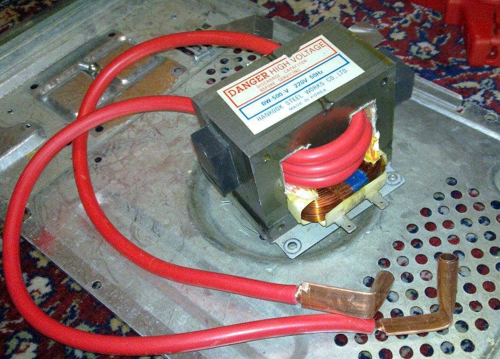 Microwave Oven Spot Welder  U2013 Iki Fi  O