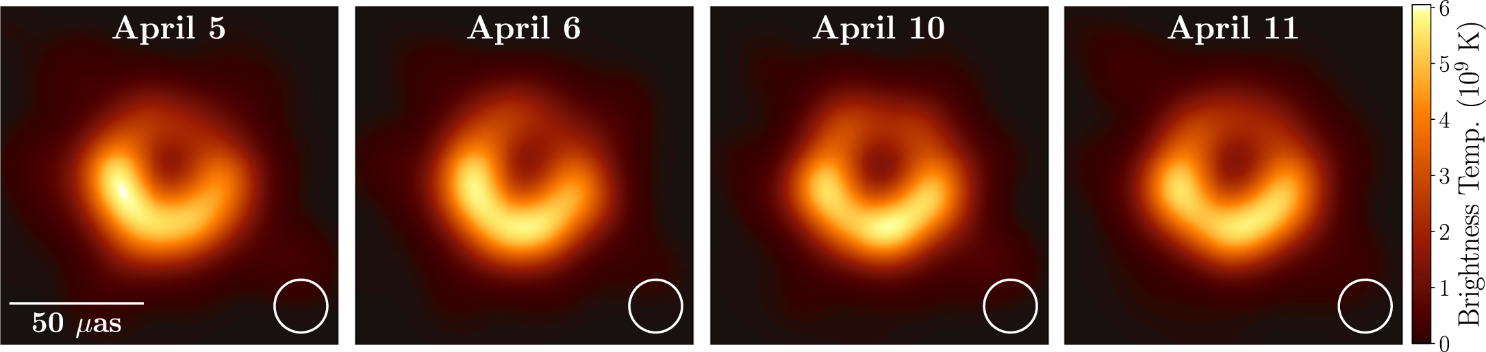 What would the M87* black hole image look like if we saw 230 GHz