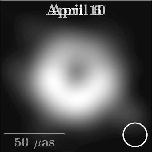 What would the M87* black hole image look like if we saw 230 GHz radio waves?